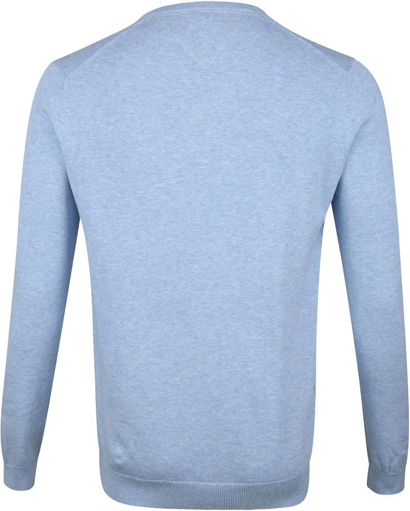 Profuomo Pullover V-Neck Light Blue photo 2
