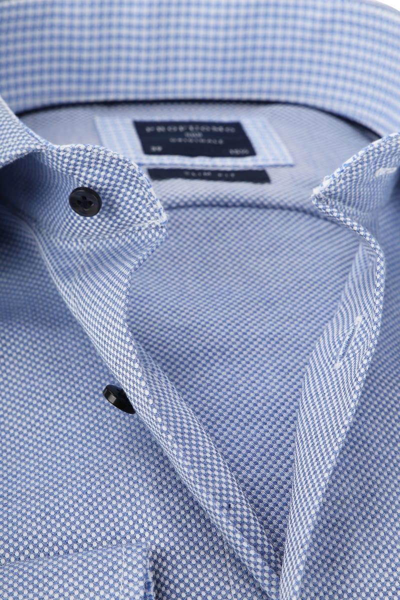 Profuomo SF Overhemd Blauw Dessin foto 1