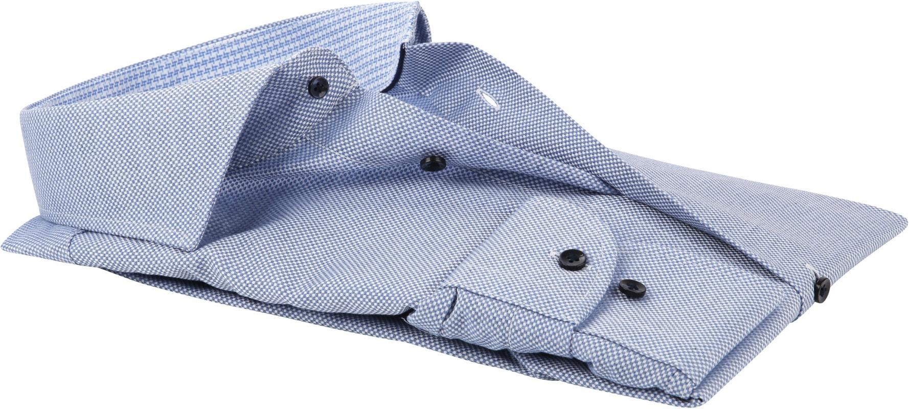 Profuomo SF Overhemd Blauw Dessin foto 3