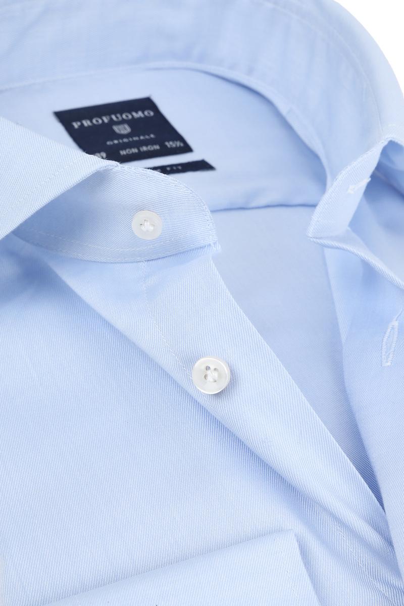 Profuomo Shirt Cutaway Blue photo 1