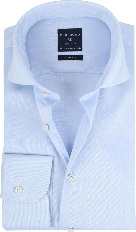 Profuomo Shirt Cutaway Blue photo 0
