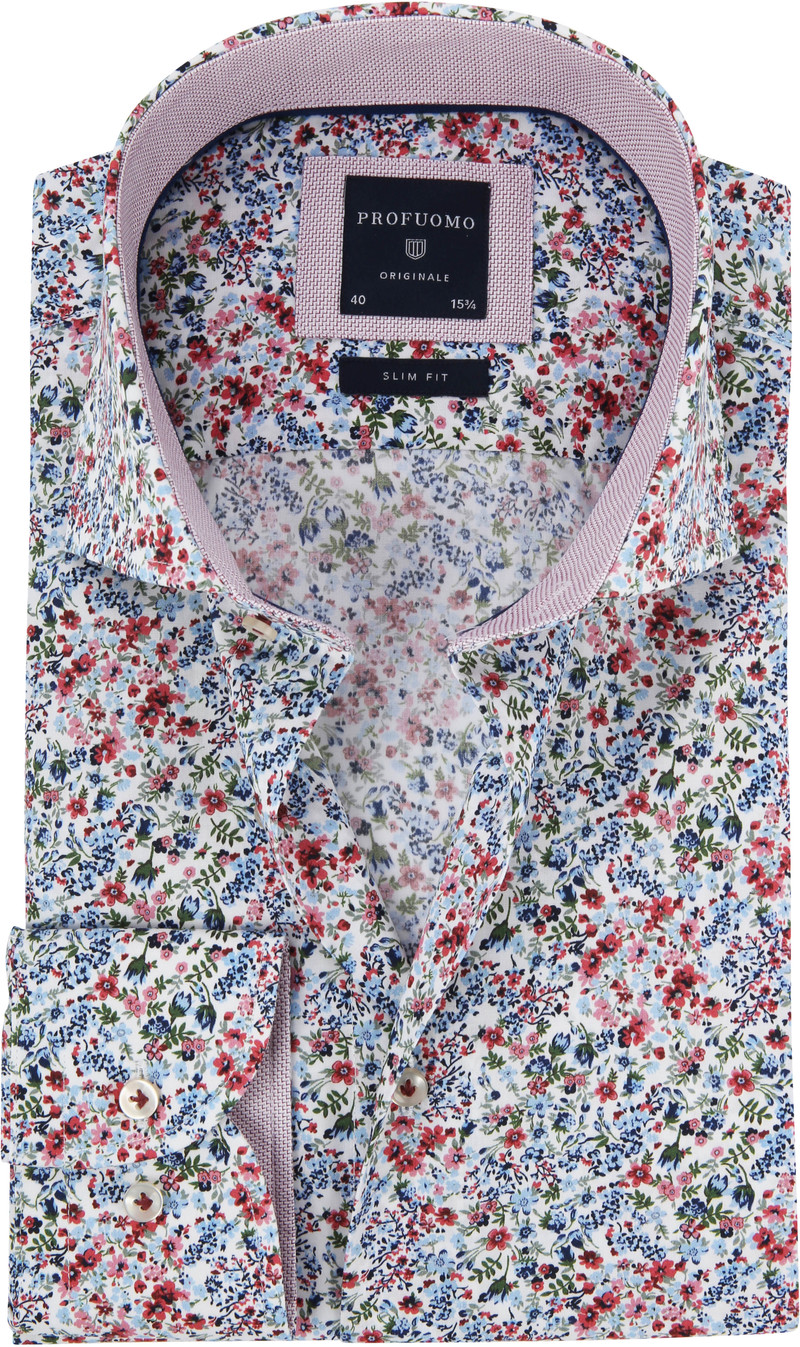 Profuomo Shirt Flowers photo 0
