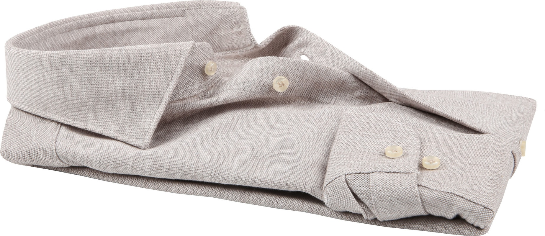 Profuomo Shirt Knitted Beige photo 3