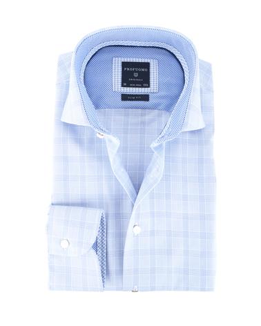 Profuomo Shirt Ruit Slim Fit
