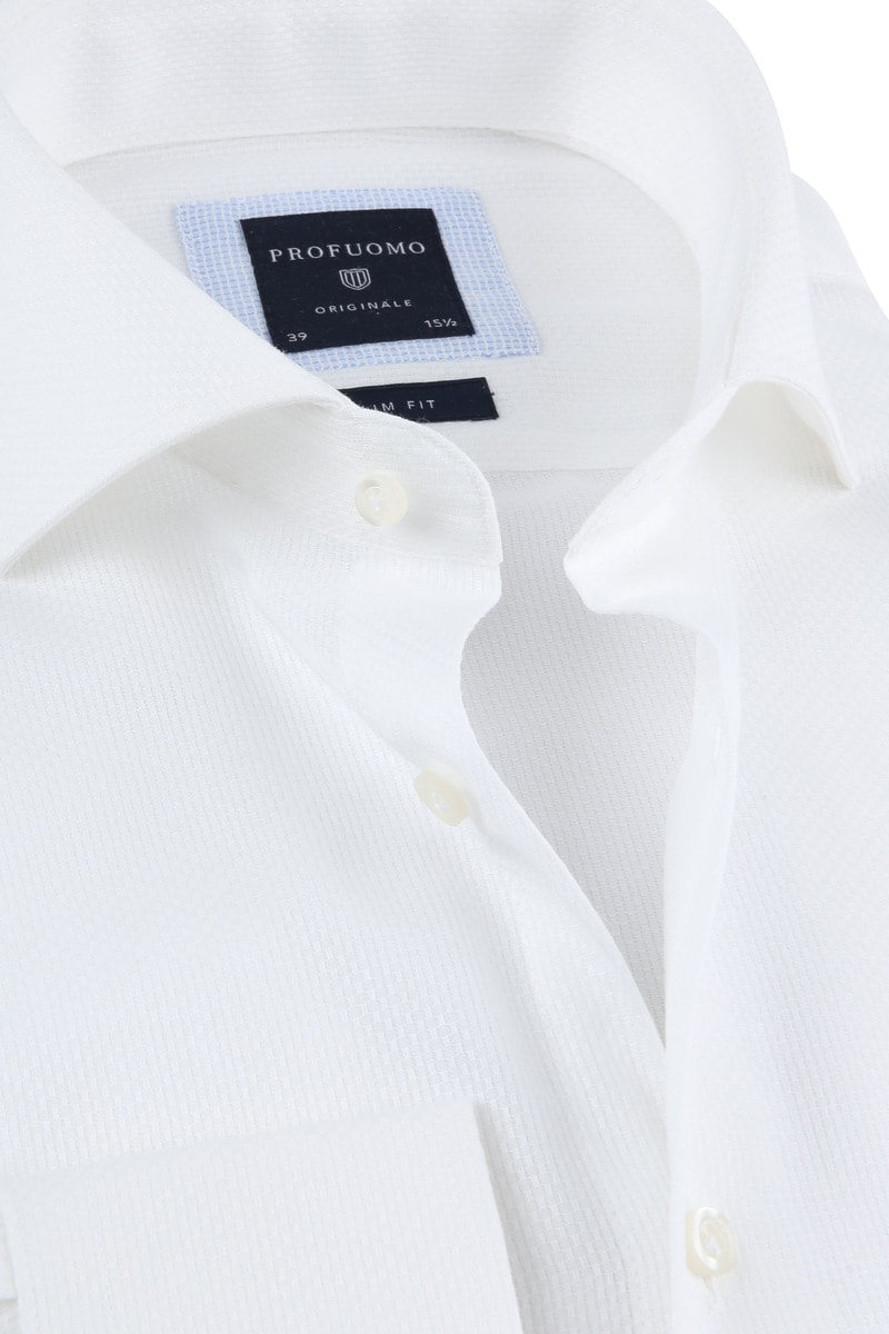 Profuomo Shirt SF Ice Cotton White photo 1