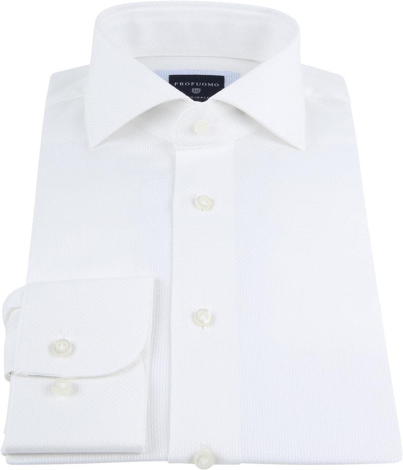 Profuomo Shirt SF Ice Cotton White photo 2