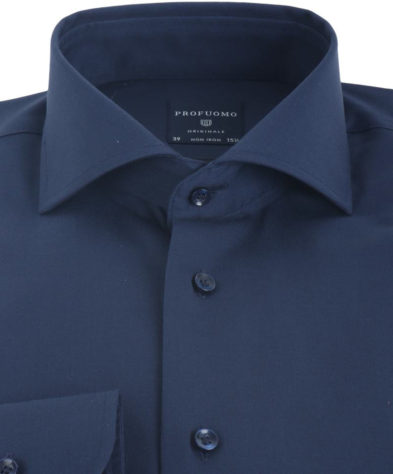 Profuomo Shirt Slim Fit Navy photo 2