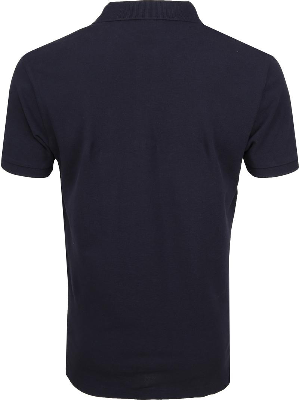 Profuomo Short Sleeve Poloshirt Dunkelblau Foto 3