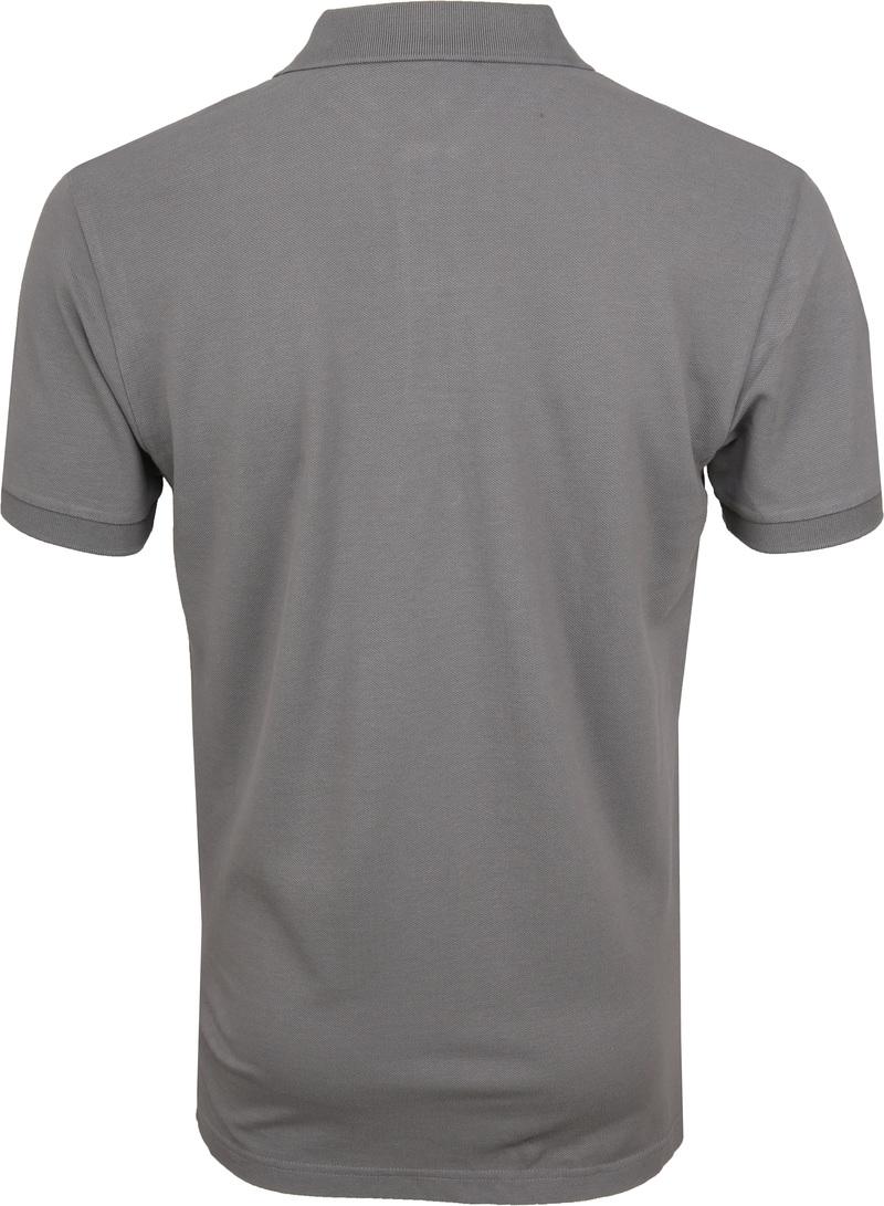 Profuomo Short Sleeve Poloshirt Grau Foto 3