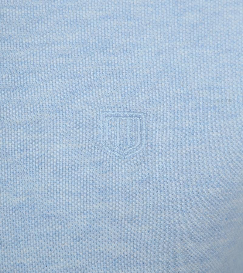 Profuomo Short Sleeve Poloshirt Hellblau Foto 2