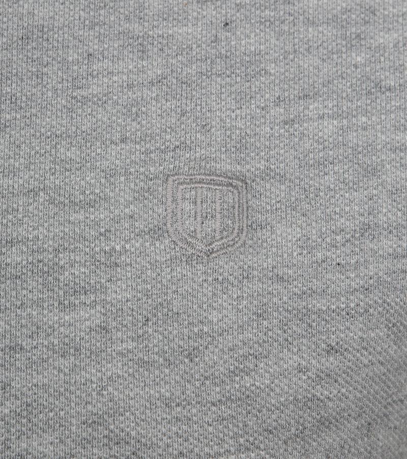 Profuomo Short Sleeve Poloshirt Hellgrau Foto 2