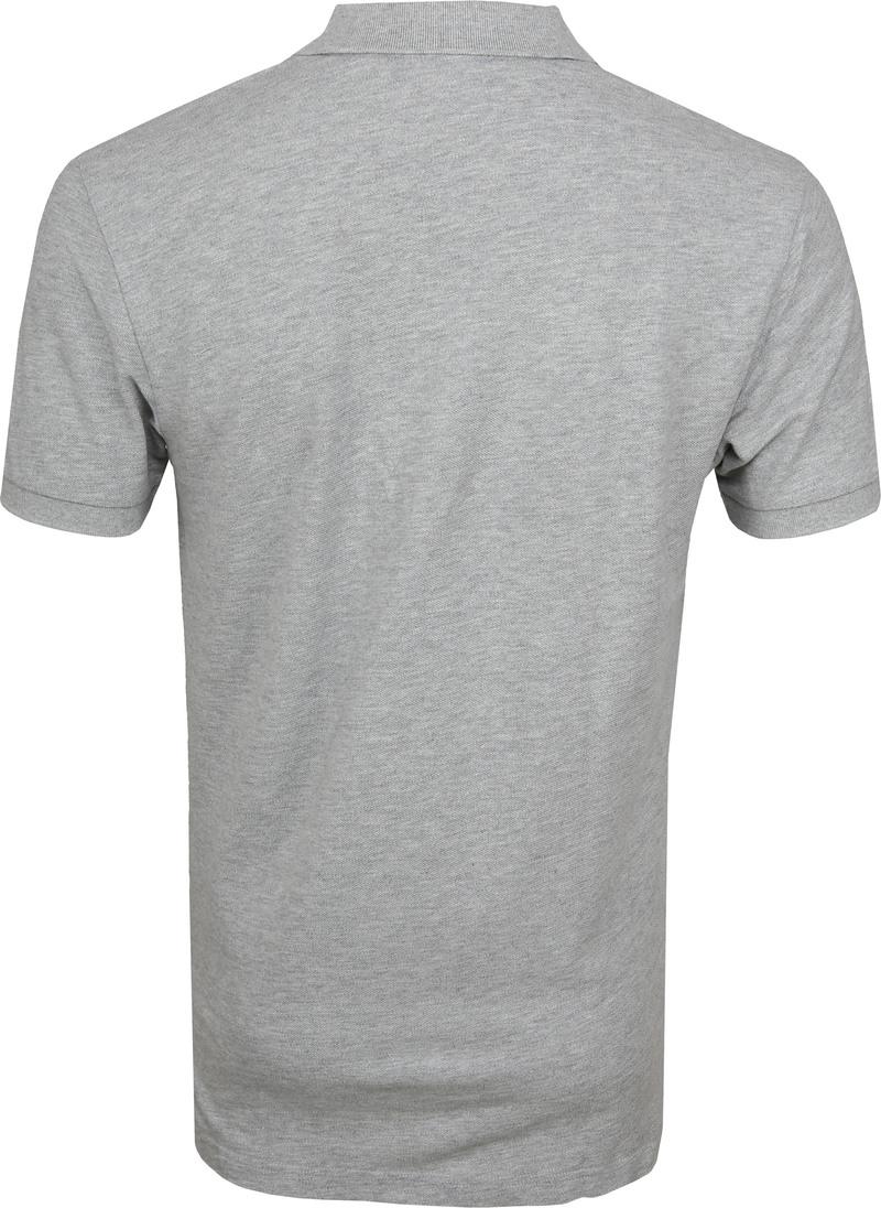 Profuomo Short Sleeve Poloshirt Hellgrau Foto 3
