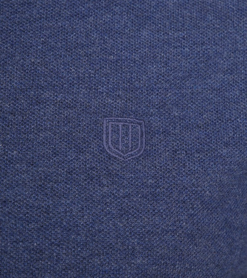 Profuomo Short Sleeve Poloshirt Indigo photo 2