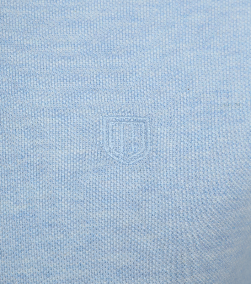 Profuomo Short Sleeve Poloshirt Light Blue photo 2