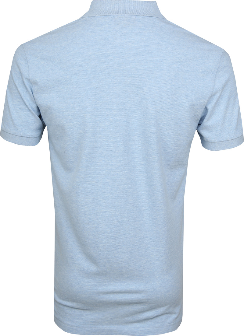 Profuomo Short Sleeve Poloshirt Light Blue photo 3