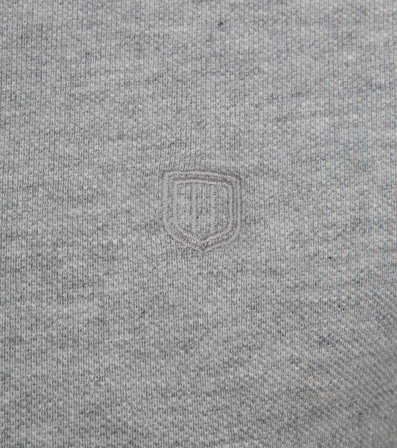 Profuomo Short Sleeve Poloshirt Light Grey photo 2