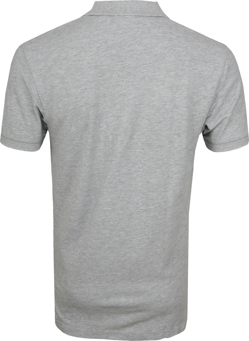 Profuomo Short Sleeve Poloshirt Light Grey photo 3