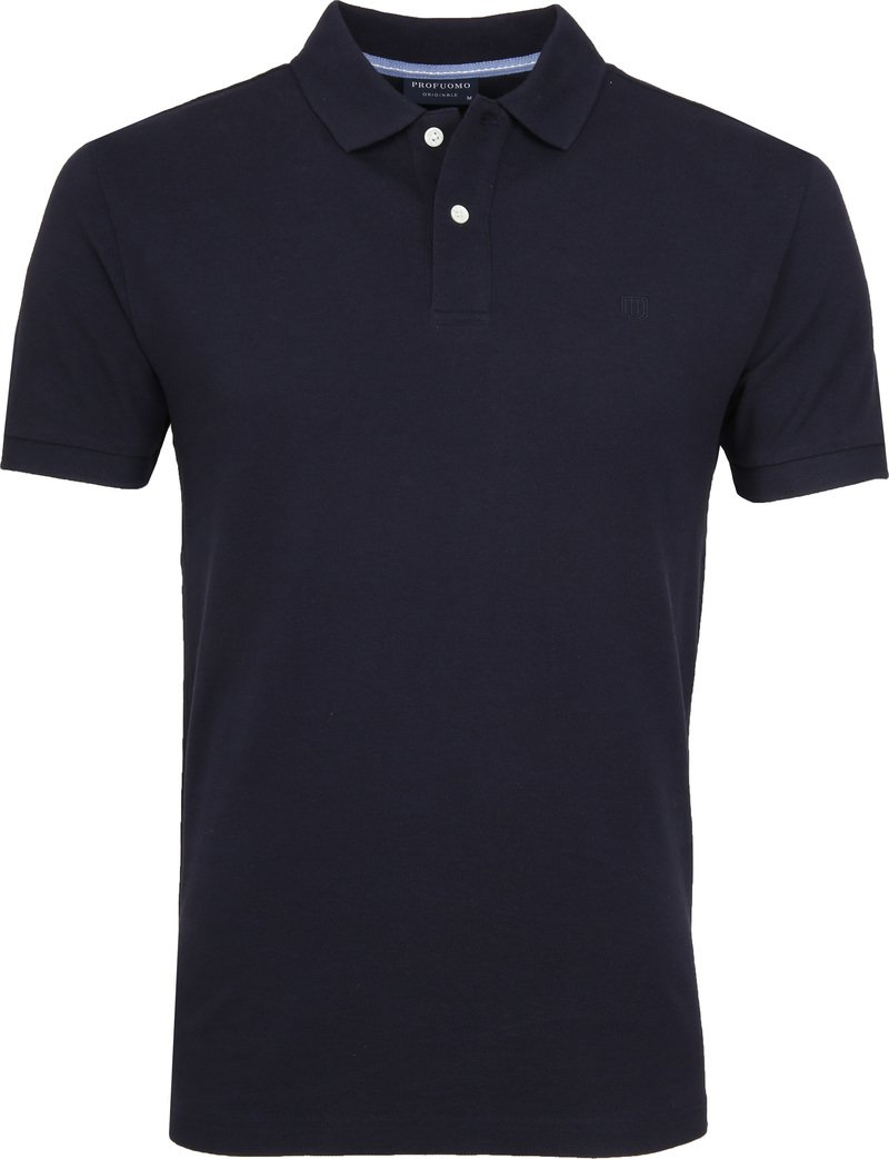 Profuomo Short Sleeve Poloshirt Navy photo 0