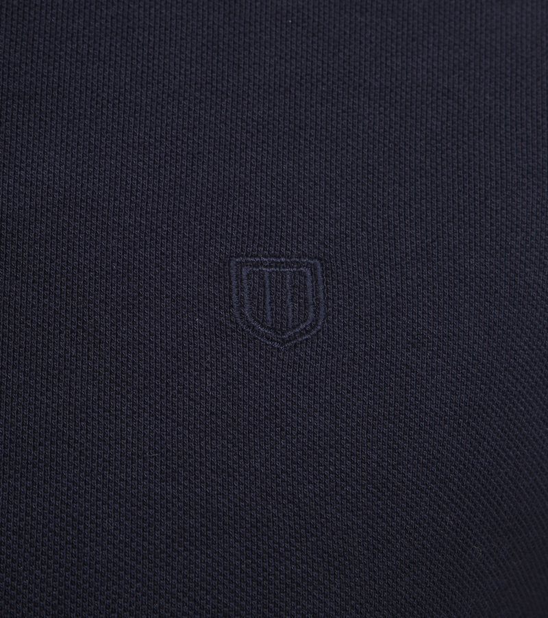 Profuomo Short Sleeve Poloshirt Navy photo 2
