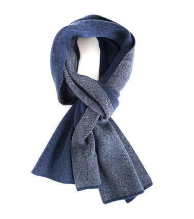 Profuomo Sjaal Motief Blauw  online bestellen | Suitable