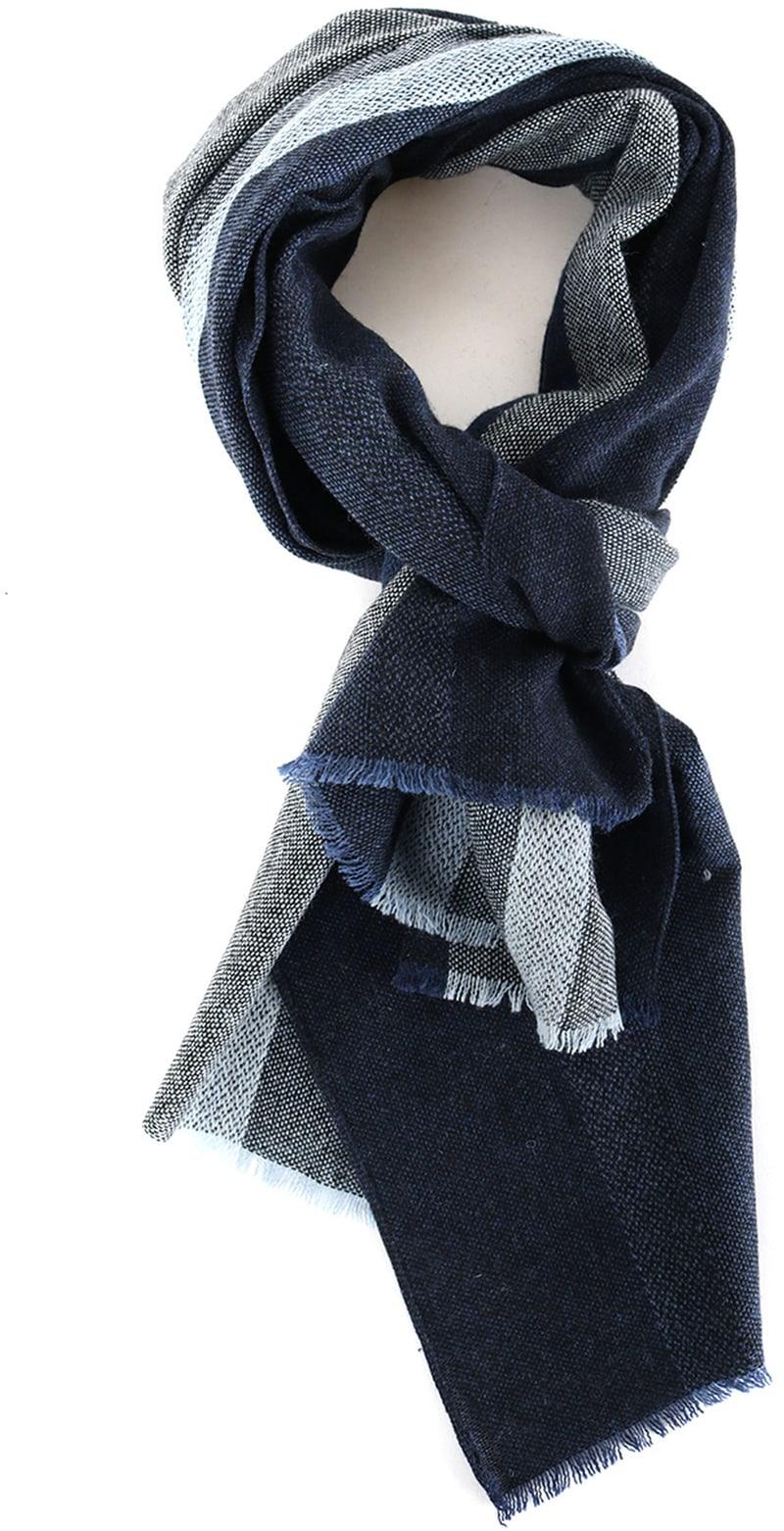 Profuomo Sjaal Streep Blauw  online bestellen | Suitable