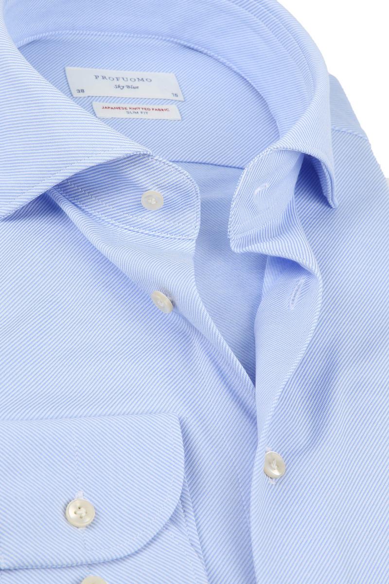 Profuomo Sky Blue SF Overhemd Blauw foto 1