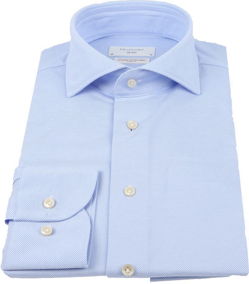 Profuomo Sky Blue SF Overhemd Blauw foto 2