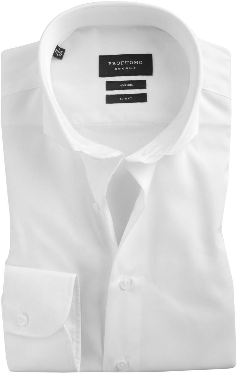 Detail Profuomo Slim Fit Overhemd Cutaway