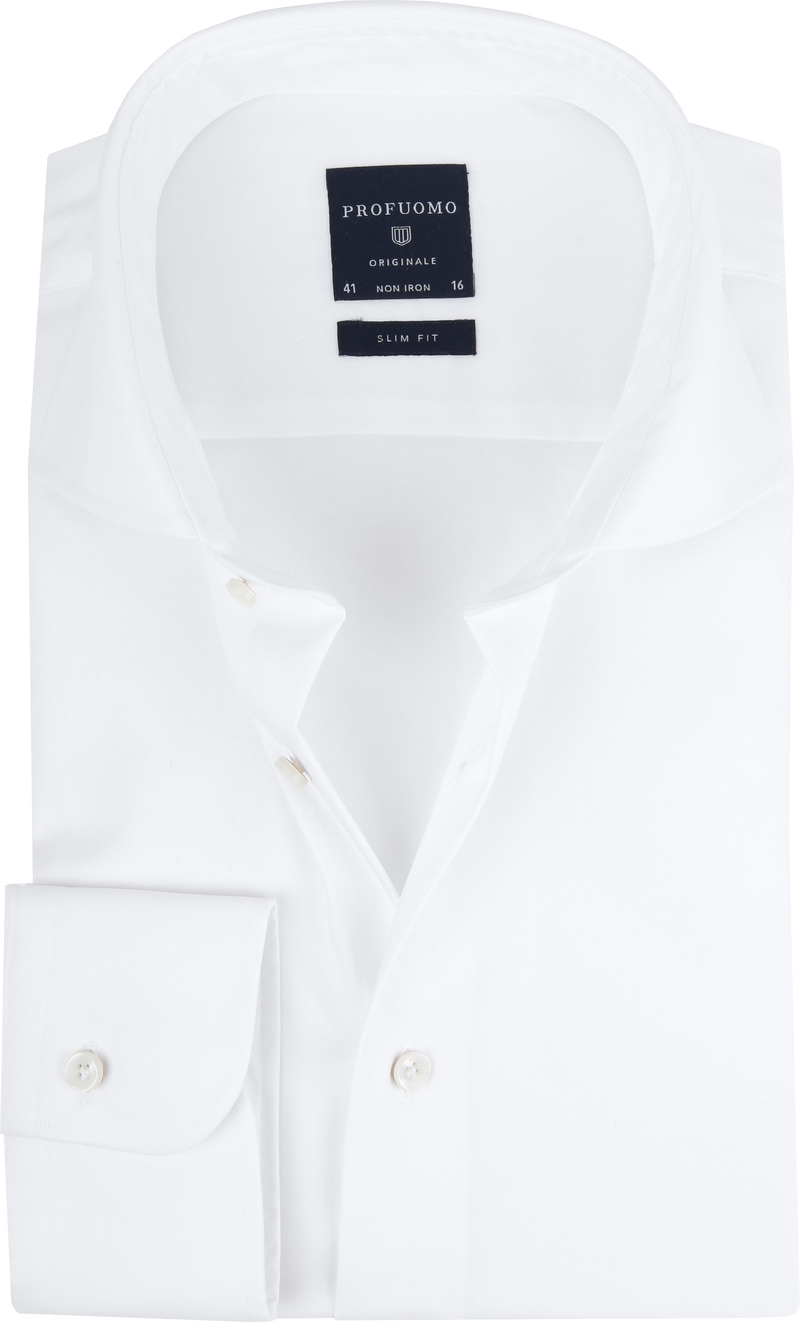 Profuomo Slim Fit Shirt Cutaway photo 0