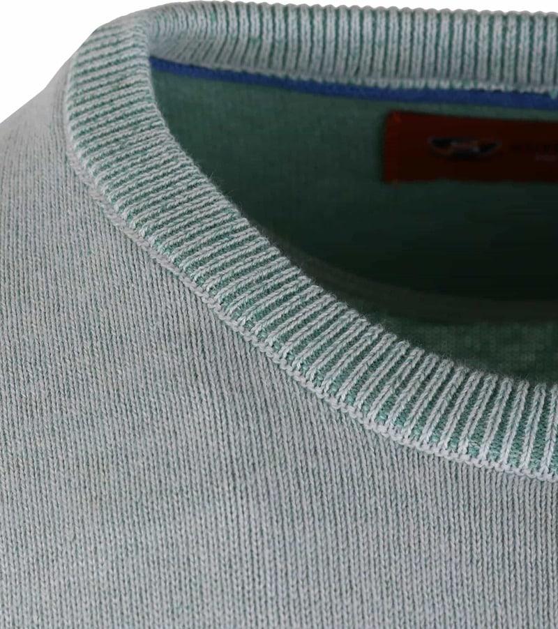Pullover O-Hals Grün