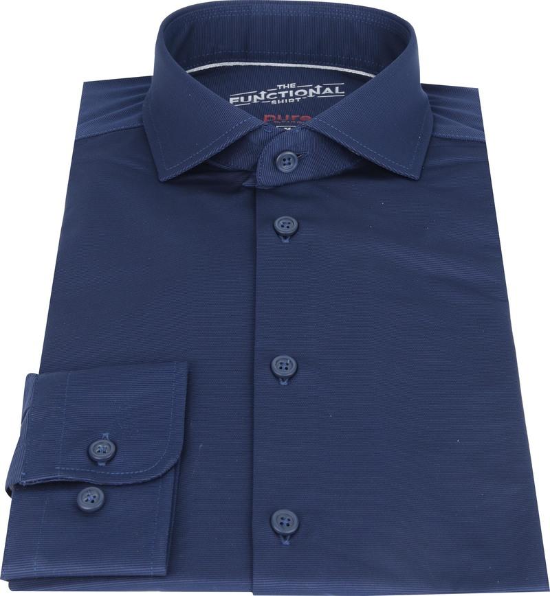 Pure Functional Overhemd Donkerblauw