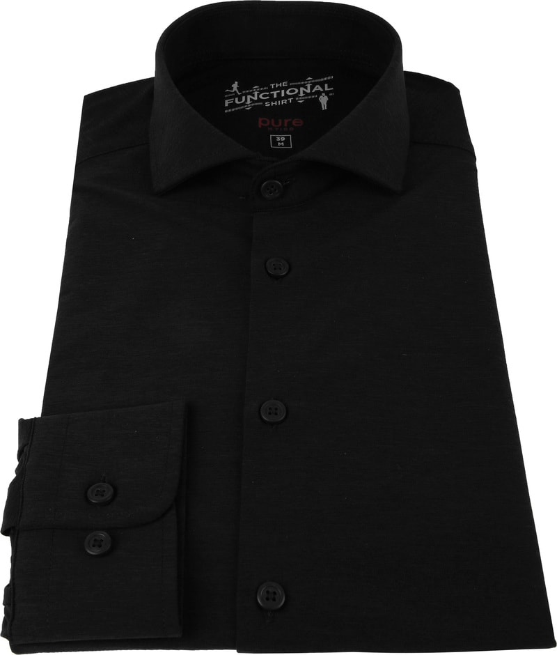 Pure H.Tico The Functional Shirt Black photo 2