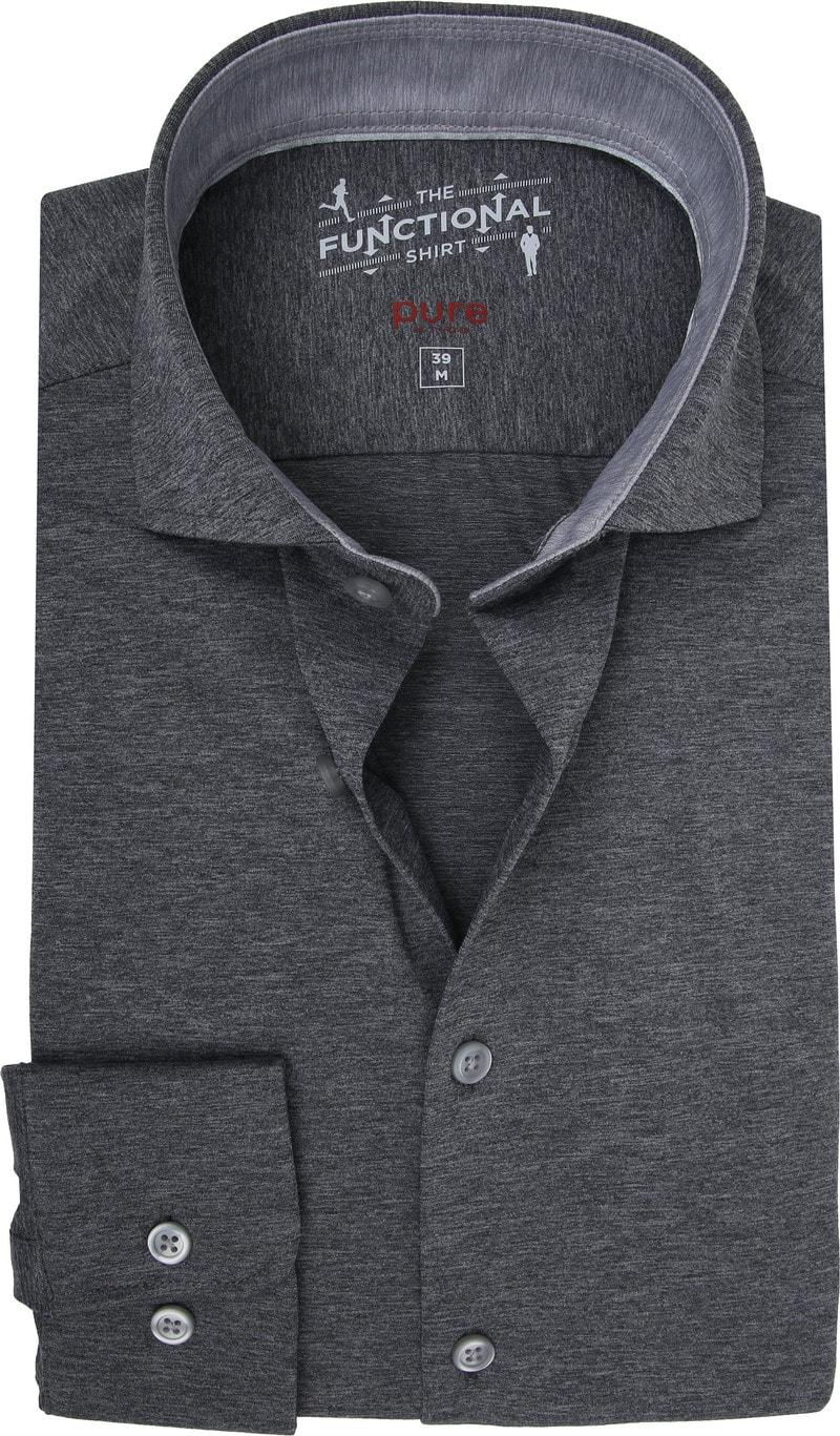 Pure H.Tico The Functional Shirt Dark Grey photo 0
