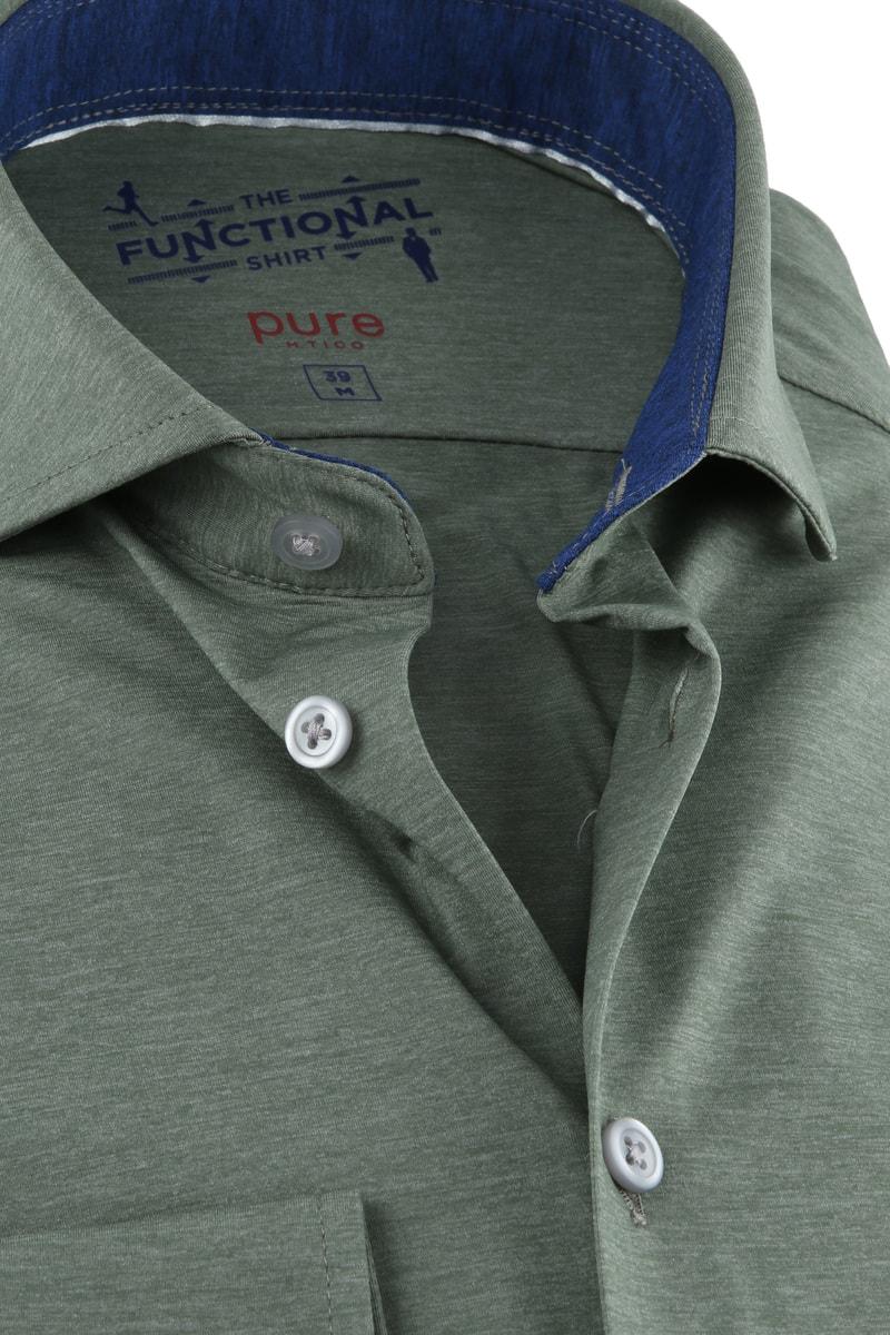 Pure H.Tico The Functional Shirt Groen foto 1