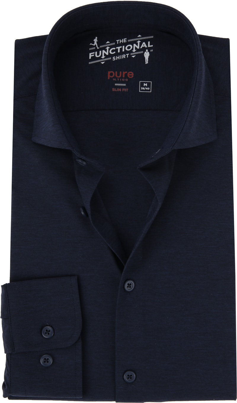Pure The Functional Shirt Navy photo 0