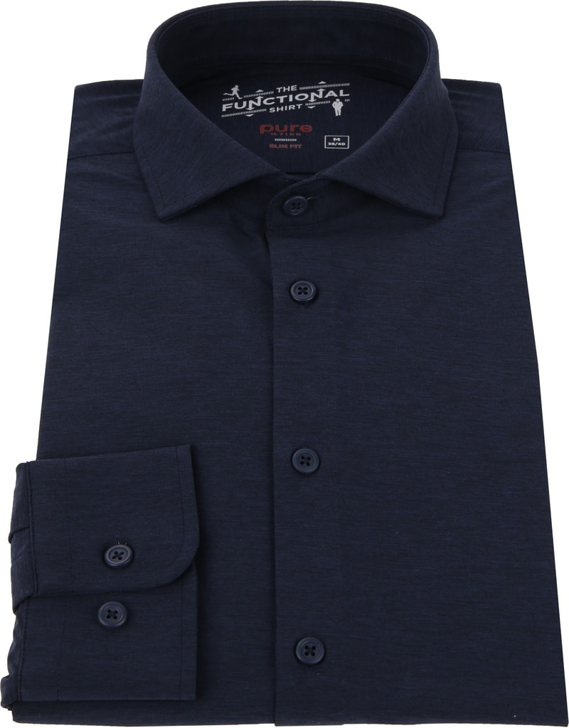 Pure The Functional Shirt Navy foto 2