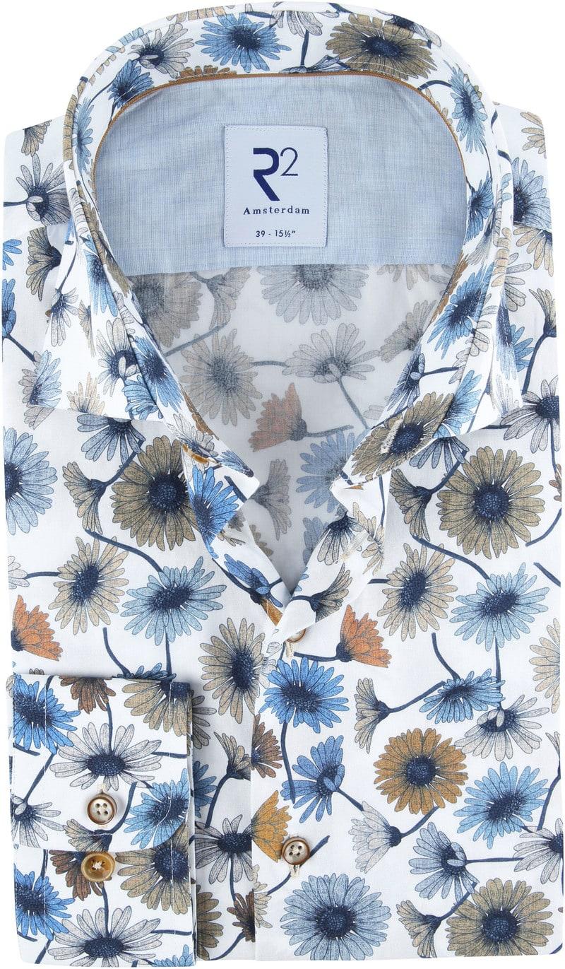 R2 Overhemd Bloemen Multicolour foto 0