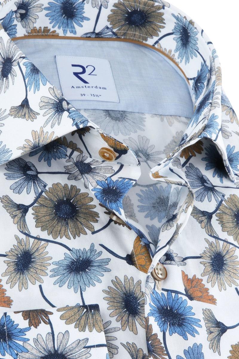 R2 Overhemd Bloemen Multicolour foto 1