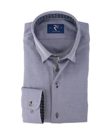 R2 Overhemd Donkerblauw  online bestellen | Suitable