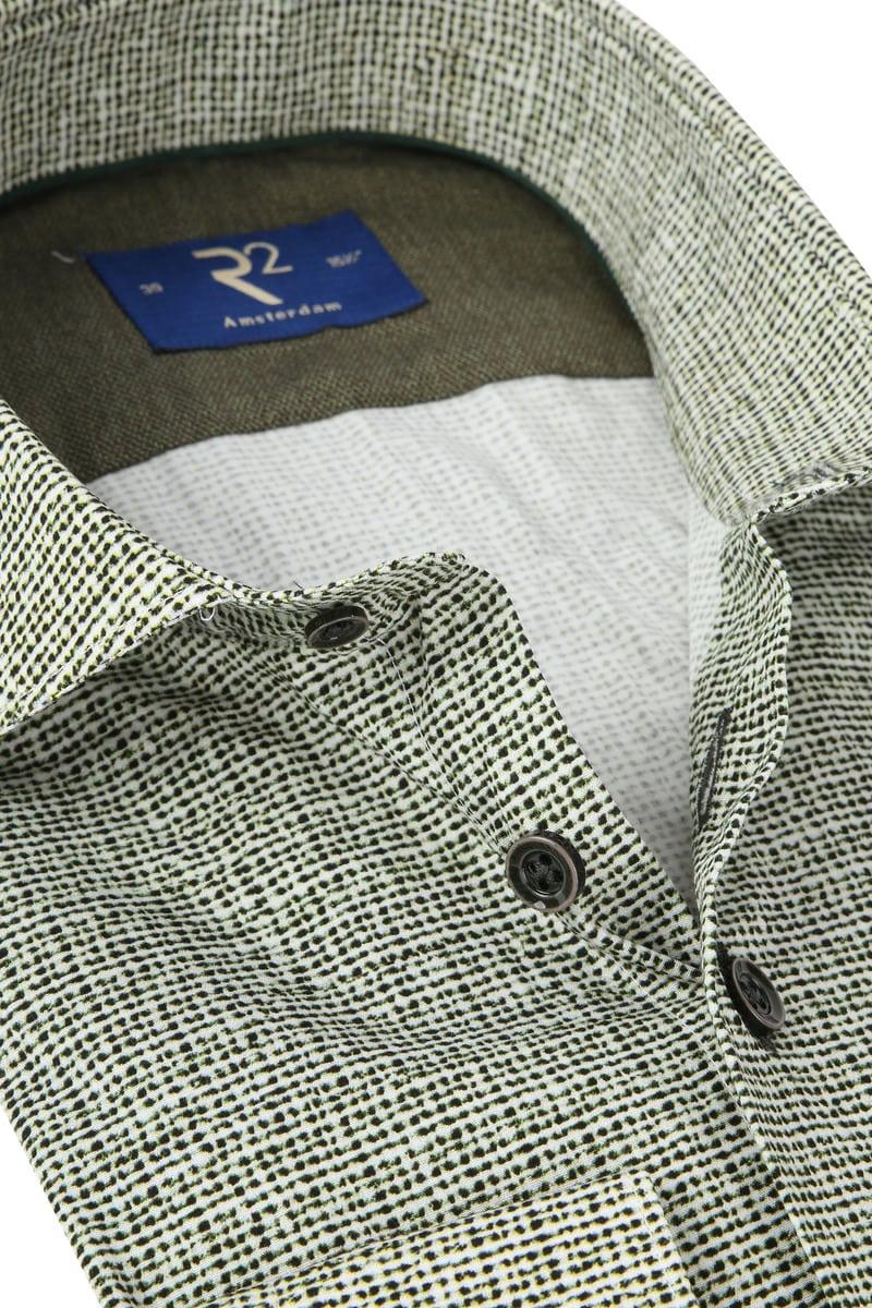R2 Shirt Poplin Green photo 1