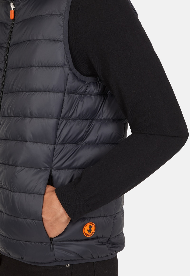 Save The Duck Bodywarmer Ebony Dark Blue photo 4