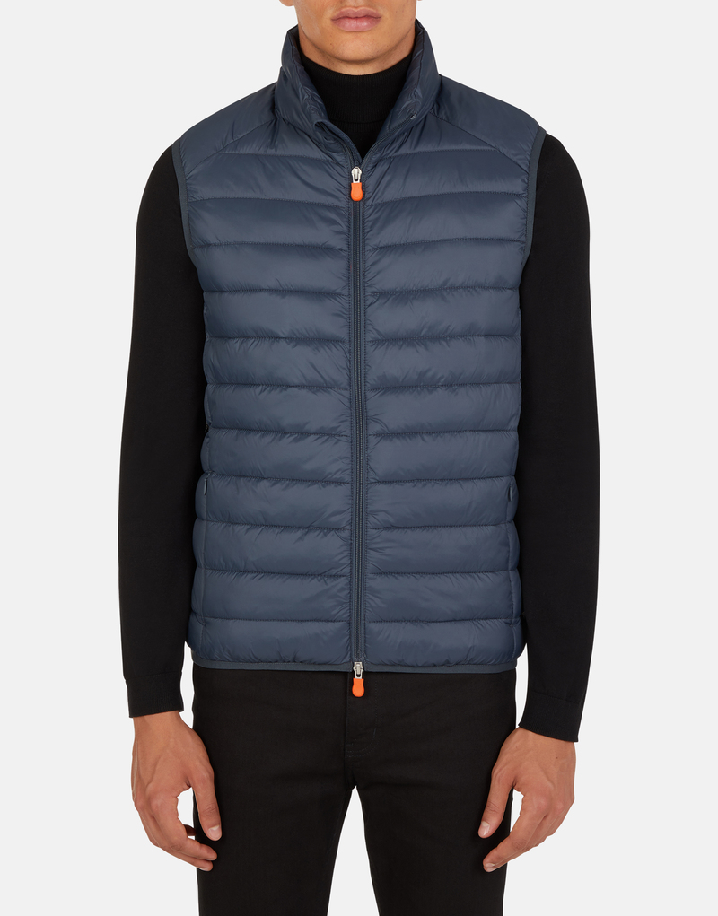 Save The Duck Bodywarmer Ebony Dark Blue photo 5