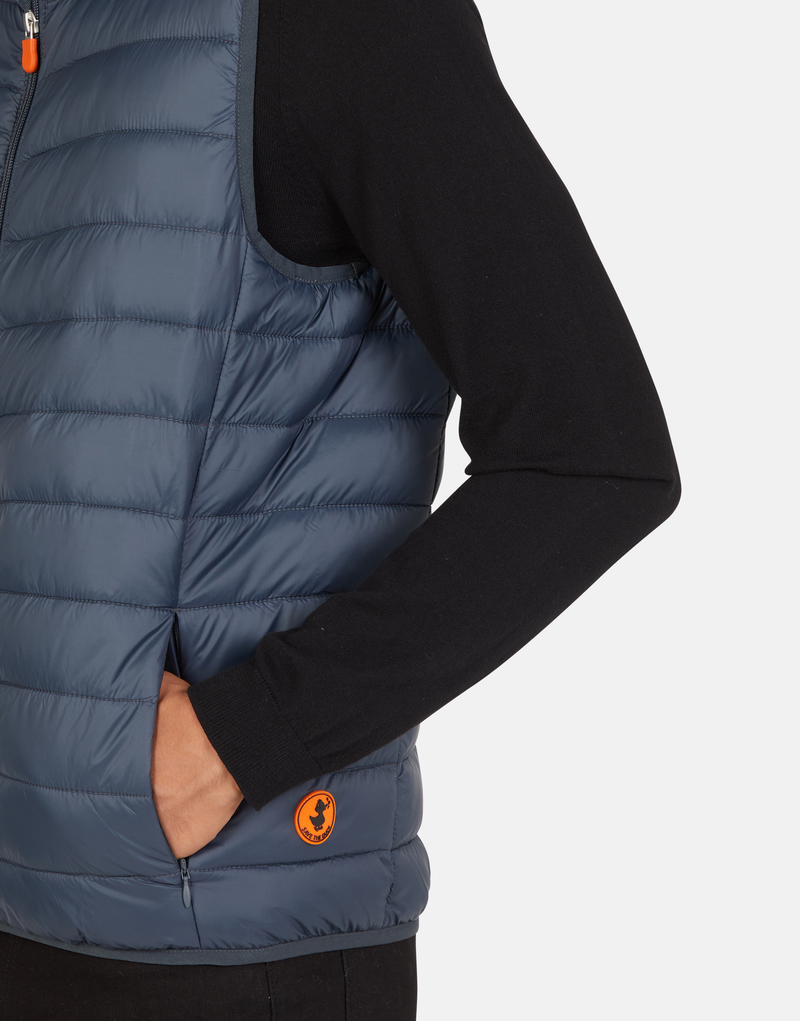 Save The Duck Bodywarmer Ebony Dark Blue photo 6