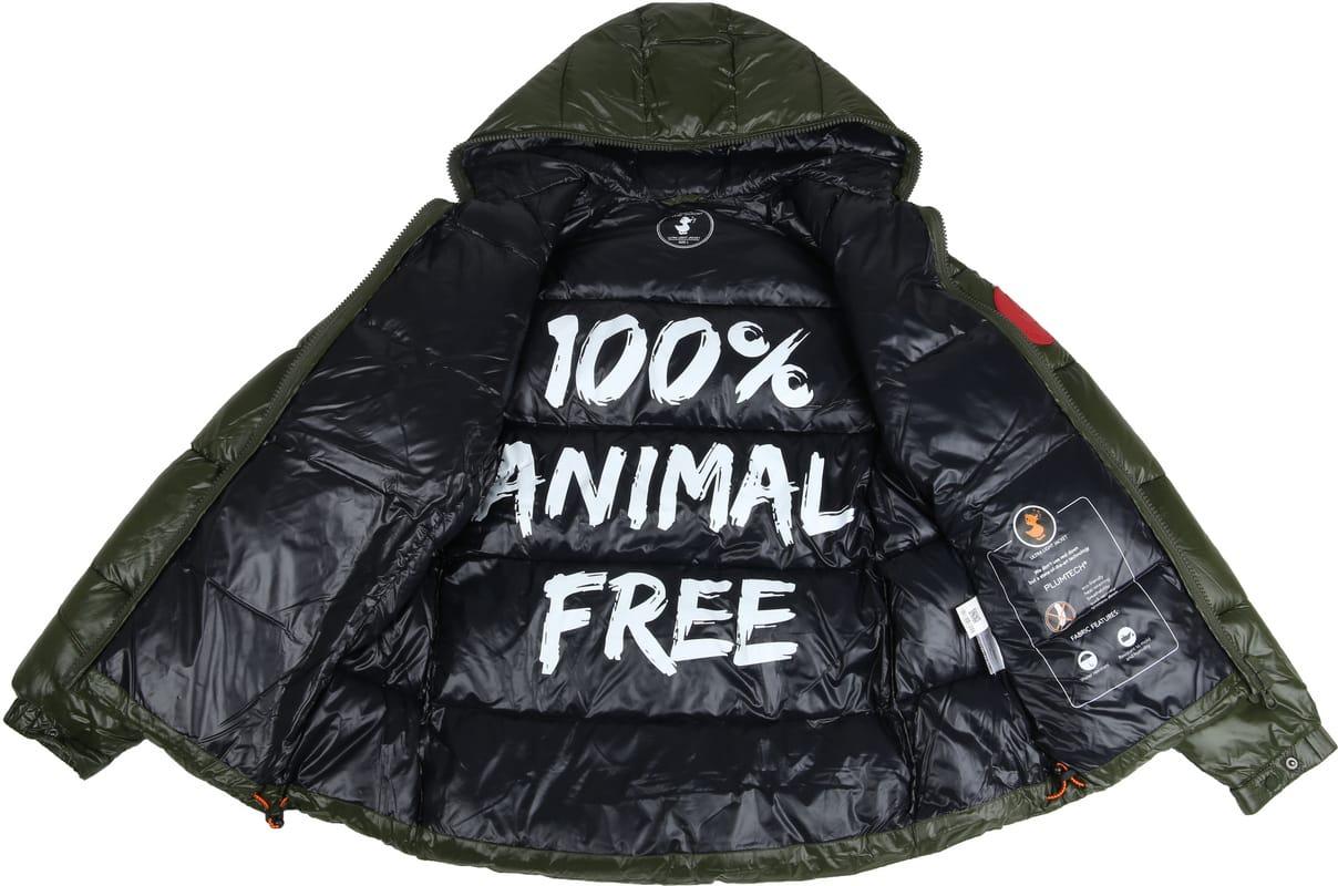 Save The Duck Jacket Dark Green photo 3