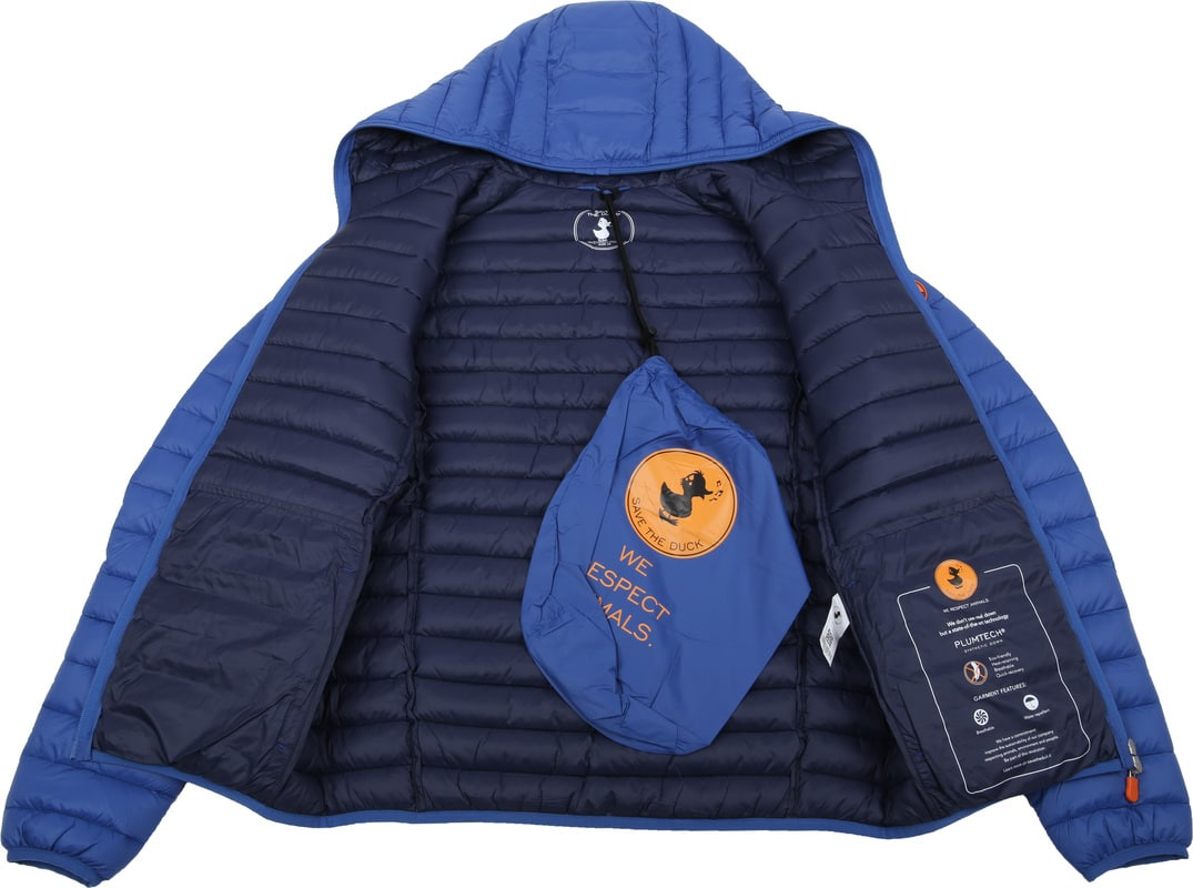 Save The Duck Jacket Giga Royal Blue photo 4
