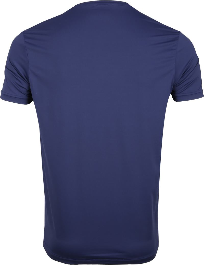 Save The Duck T-shirt Navy Stretch Text photo 3