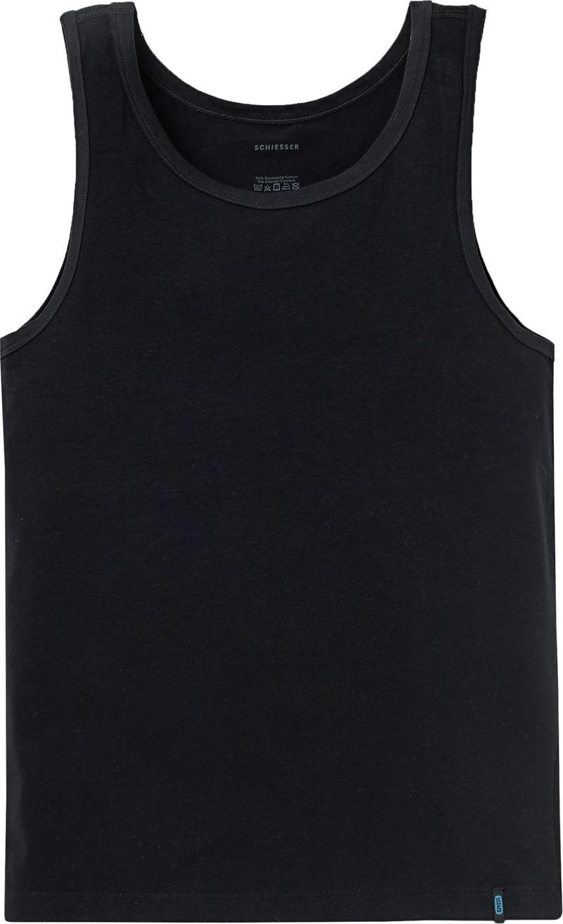 Schiesser Hemd Zwart