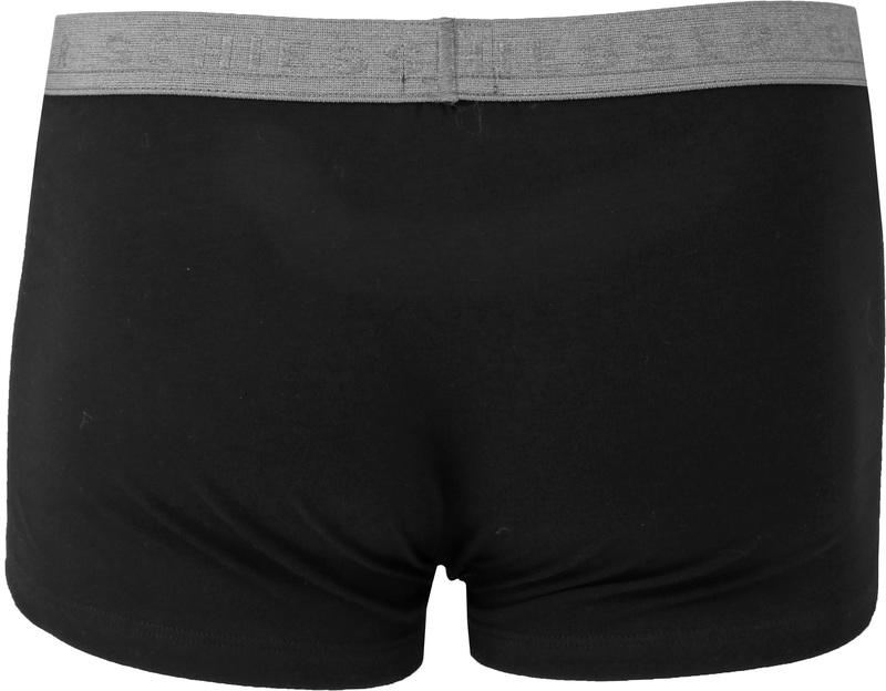Schiesser Shorts Black Grey (1Pack) Foto 1