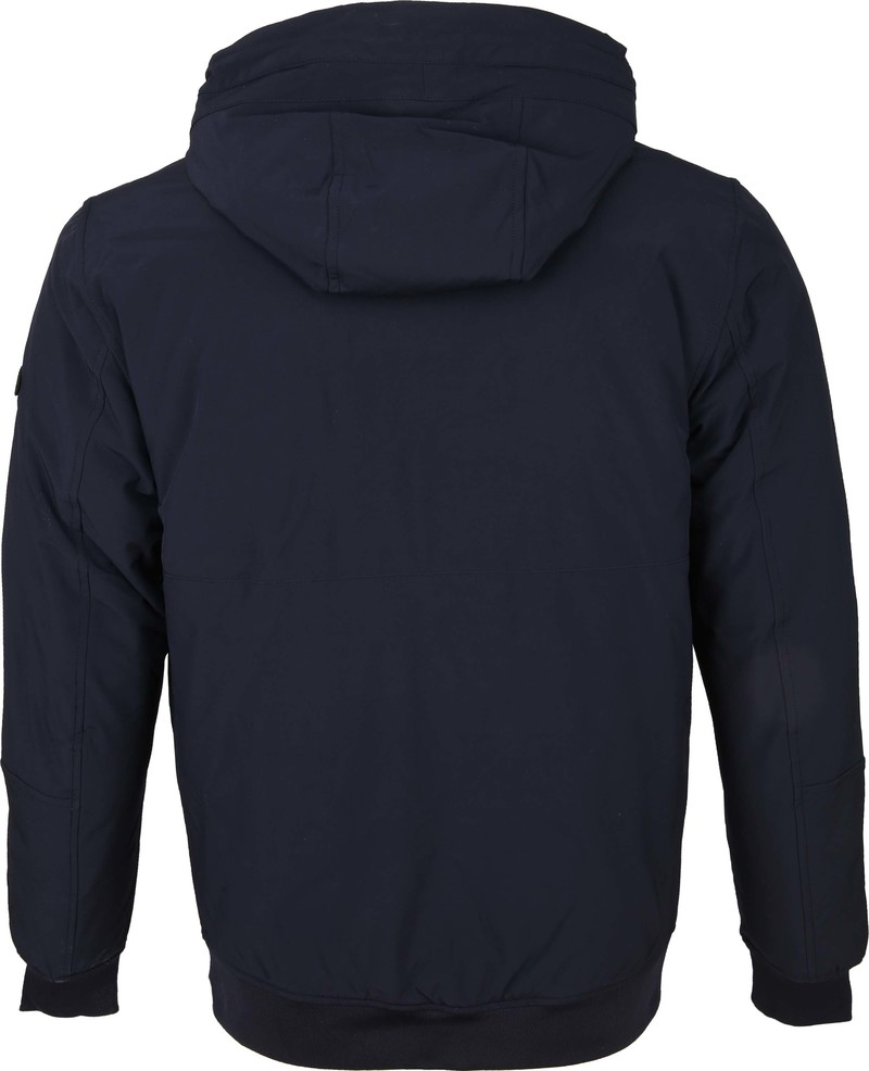 Scotch and Soda Hooded Jas Navy