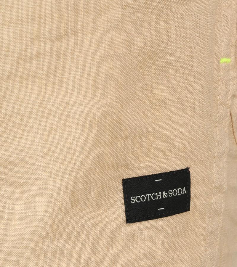 Scotch and Soda Overhemd Beige foto 3